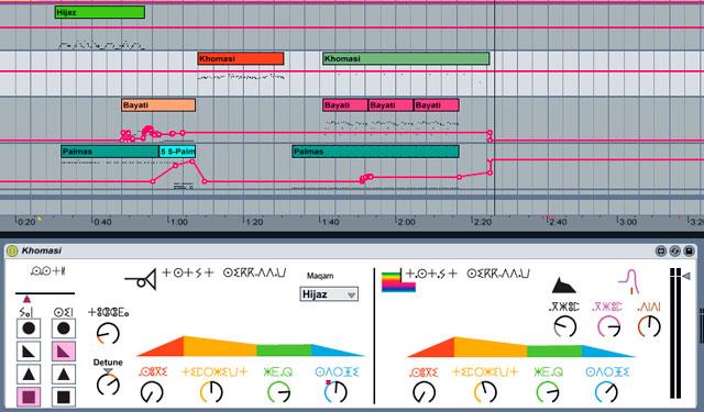 Sufi-Plug-Ins - Ableton Live 8 -screenshot - Arrangement View